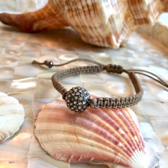 Stella & Dot Vintage tie bracelet